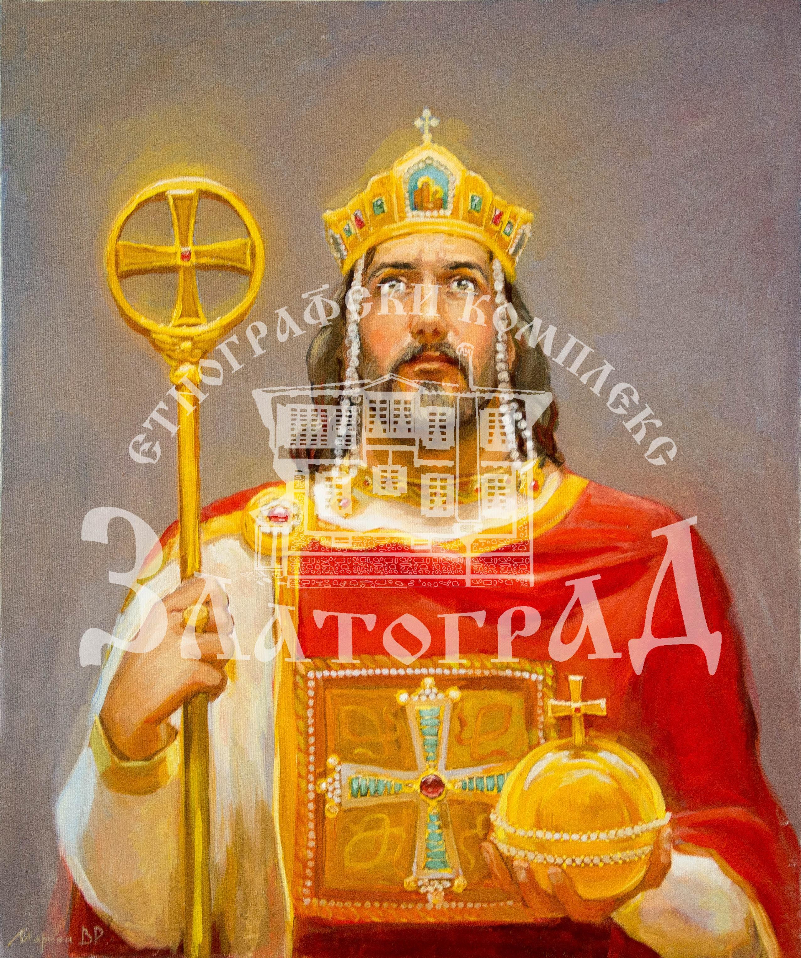 """Портрет """"Княз Борис І"""" - I19007"""