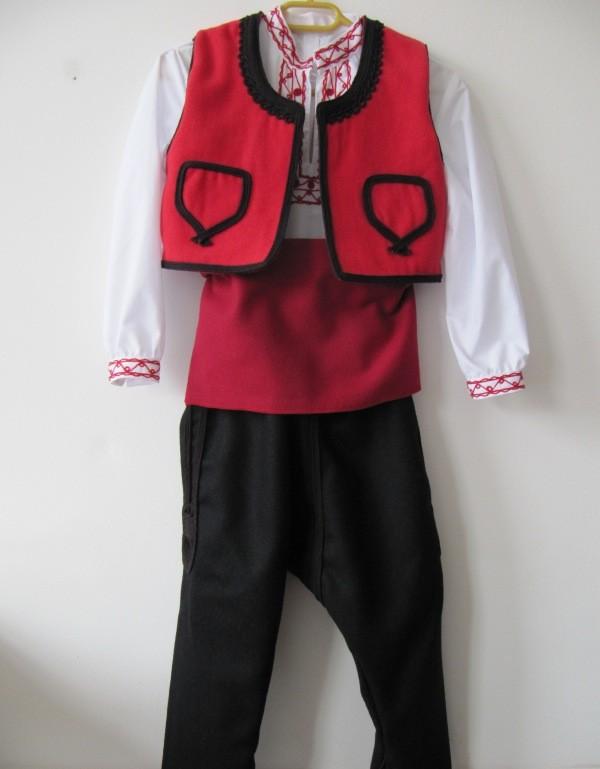 Детска народна носия момче TR 11002