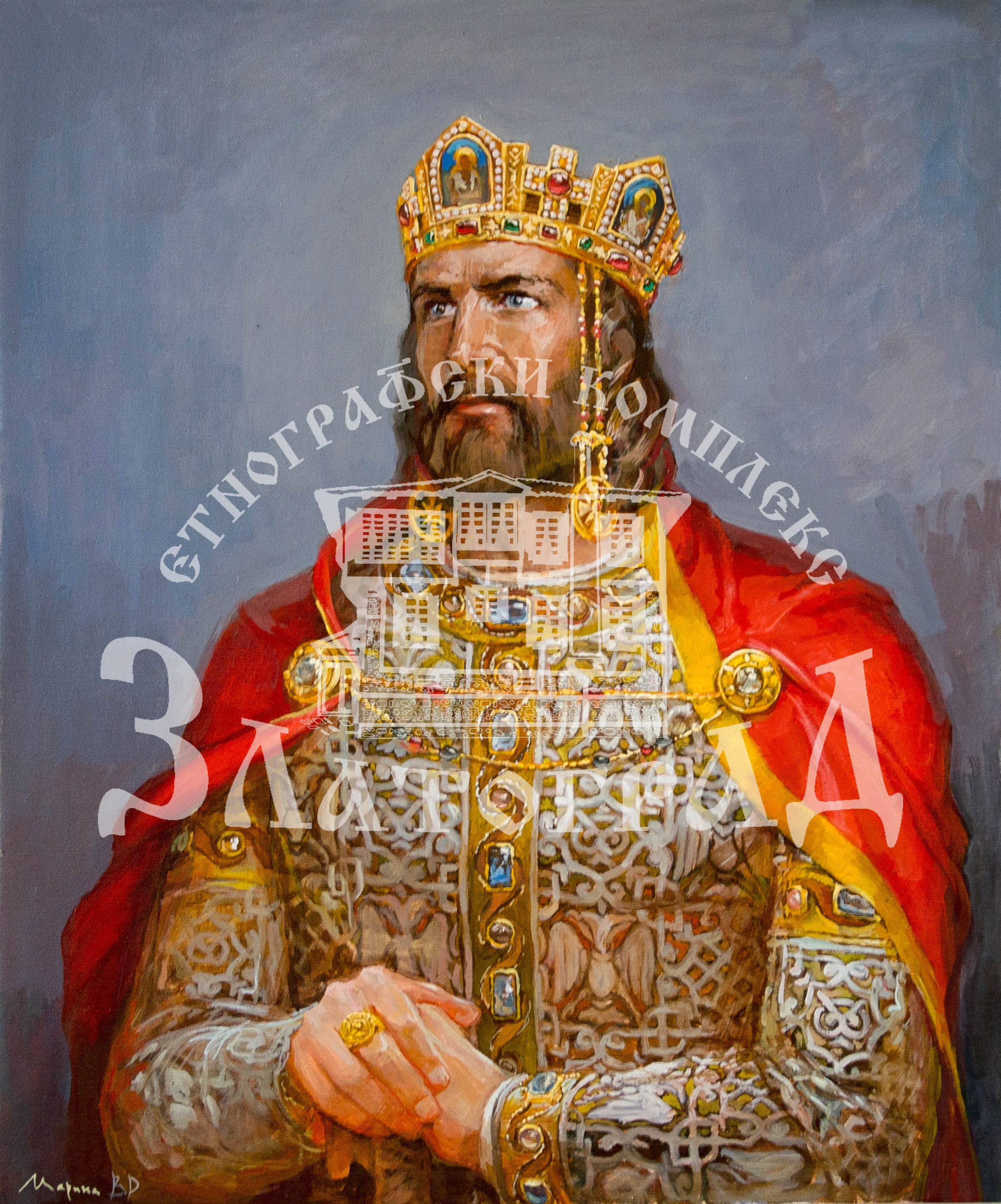 "Портрет ""Цар Калоян"" - I19011"