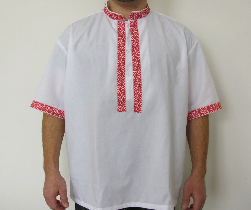 Мъжка риза с ширит TR10025