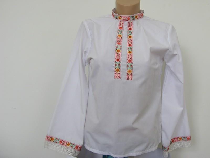 Дамска риза с ширит TR10004