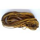 Гайтан двуцветен жълто-черен GT17002