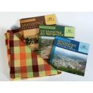 Комплект 3 книги + подарък - покривка за маса - I10015